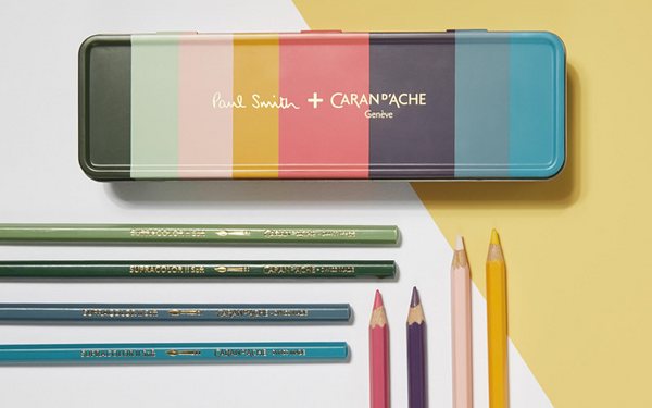Caja Metalica de 8 Colores SUPRACOLOR® Soft Aquarelle PAUL SMITH - Limited Edition