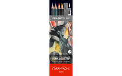 Graphite Line Multi-Tech. Watersoluble Set - ass. 13 psc FSC - Caran d'Ache Colombia