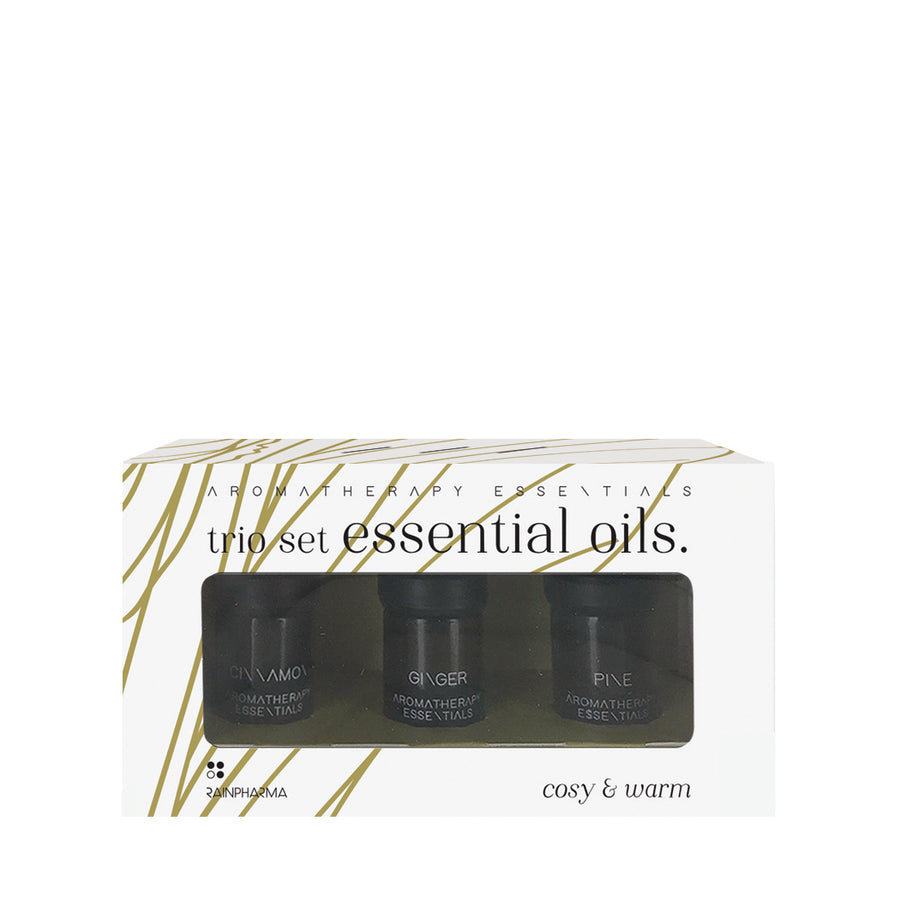 Trio Essential Oils - Cosy & Warm - UITVERKOCHT