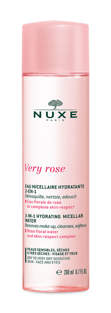 Nuxe Very Rose Hydraterend micellair water 3-in-1