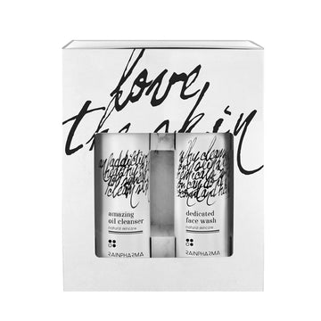 Promoset Amazing Oil Cleanser + Dedicated Face wash - UITVERKOCHT