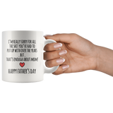 Enough About Mom Father's Day Mug