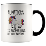 Aunticorn Colour Mug