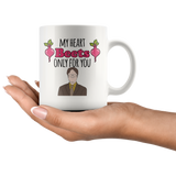 Heart Beets Only For You Mug