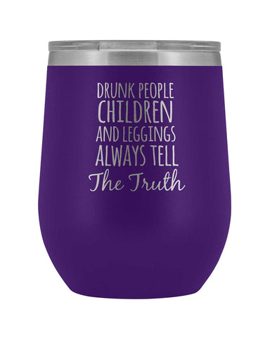 Drunk People Wine Tumbler