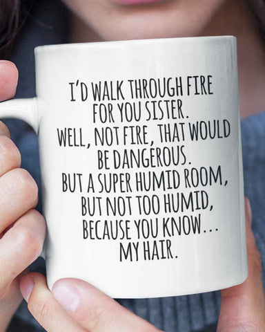 Walk Through Fire Mug