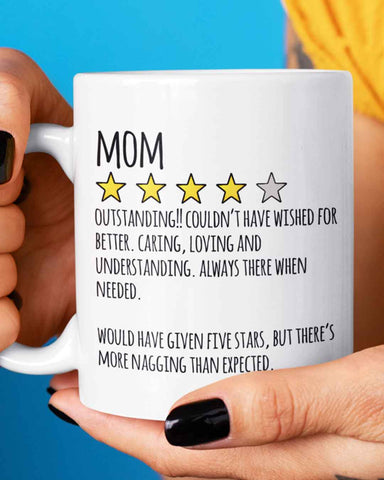 Mom Review Mother's Day Mug
