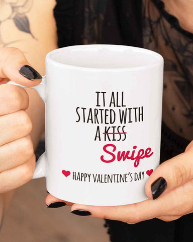 Started With A Swipe Mug