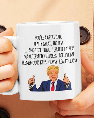 Presidential Terrific Father's Day Mug