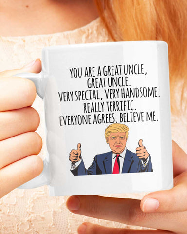 Presidential Uncle Mug