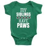 My Siblings Baby Bodysuit