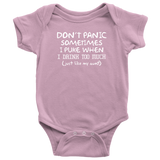 Don't Panic Baby Bodysuit