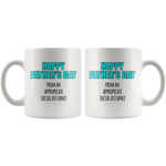 Social Distance Father's Day Mug