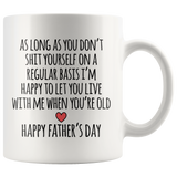 When You're Old Father's Day Mug