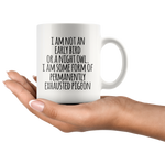 Permanently Exhausted Pigeon Mug