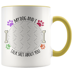 Personalized Photo Mug - My Dog And I