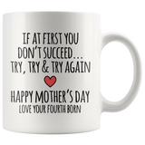 2nd/3rd/4th/Last Born Mother's Day Mugs