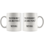 Like About People Mug