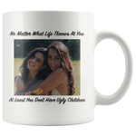 What Life Throws At You Personalized Father's Day Mug