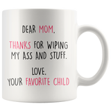 Thanks Mom Mother's Day Mug