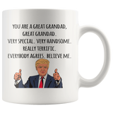 Presidential Great Grandad Mug