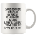 Fight A Bear Mug