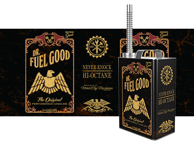 Dr Fuel Good Gas Can White