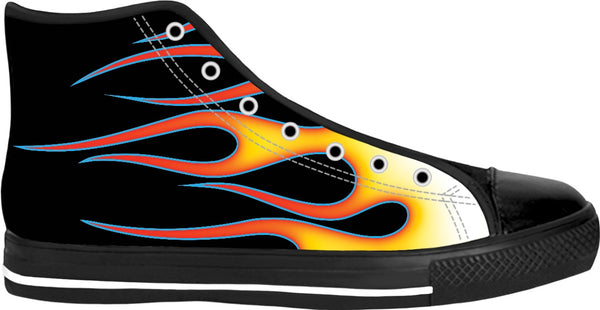 Hot Rod Flames High Tops