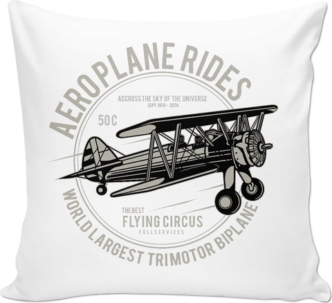 Aeroplane Rides Couch Pillow