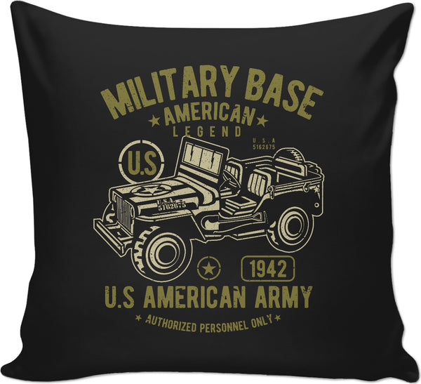 Military Base Couch Pillow
