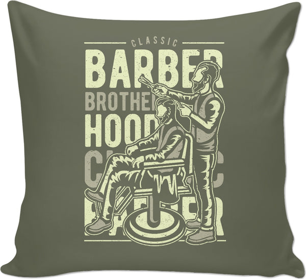 Classic Barber Couch Pillow