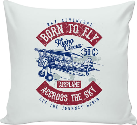 Born to Fly Couch Pillow