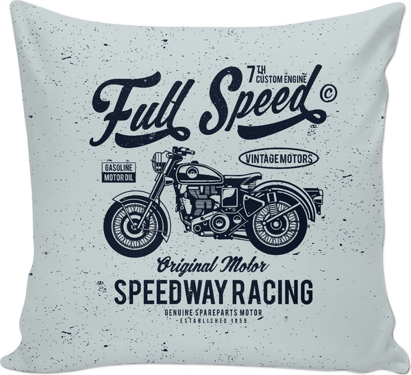 Full Speed Couch Pillow