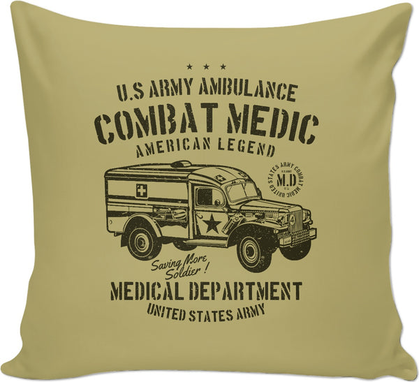 Combat Medic 2 Couch Pillow