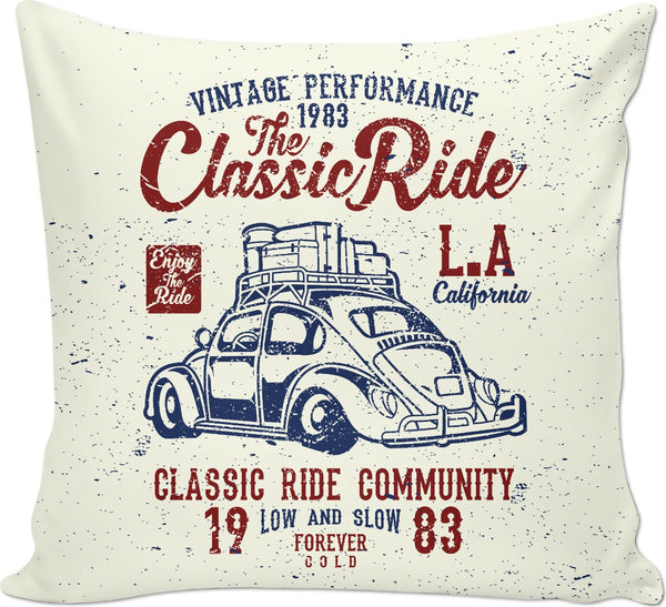L.A. Classic Ride Couch Pillow