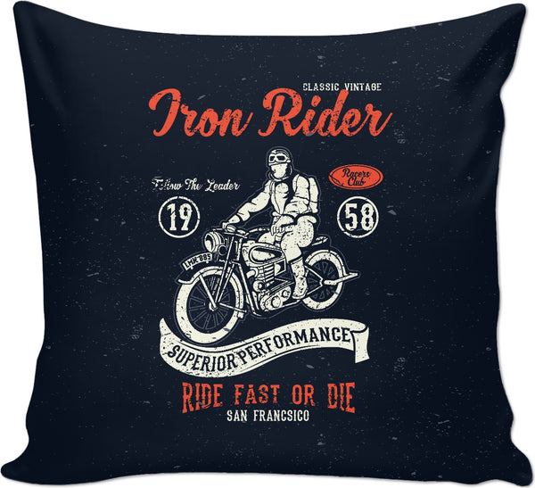 Iron Rider Couch Pillow