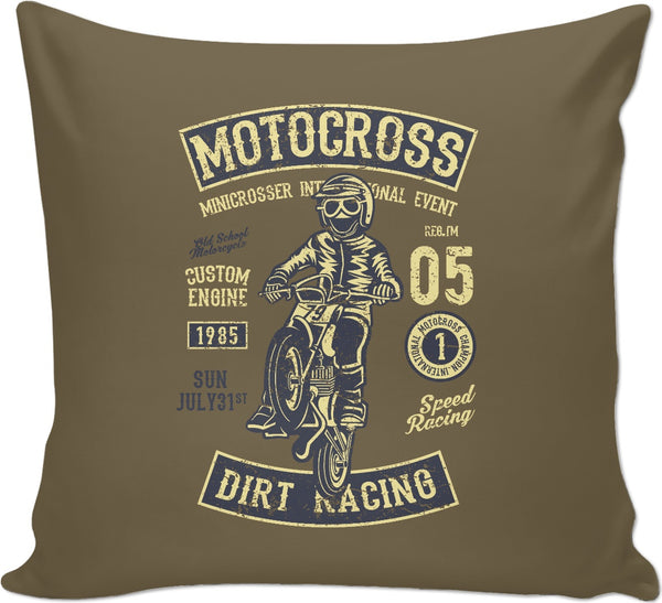 MotoCross Couch Pillow