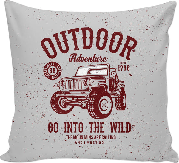 Outdoor Adventure Couch Pillow
