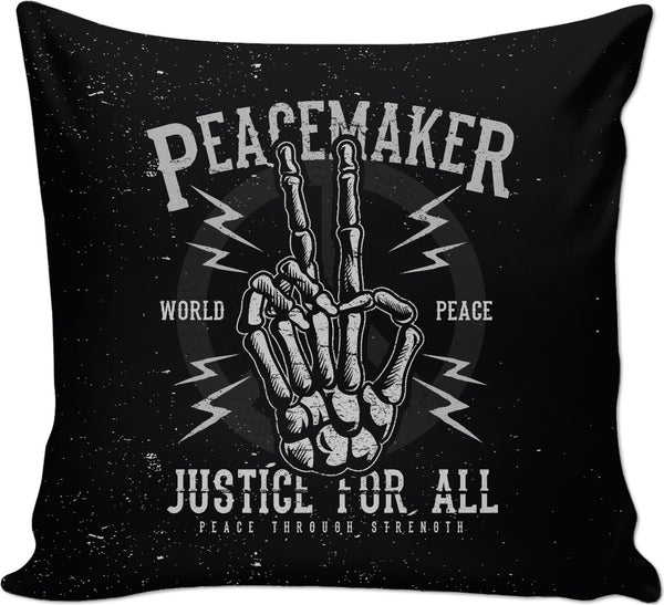 Peacemaker Couch Pillow