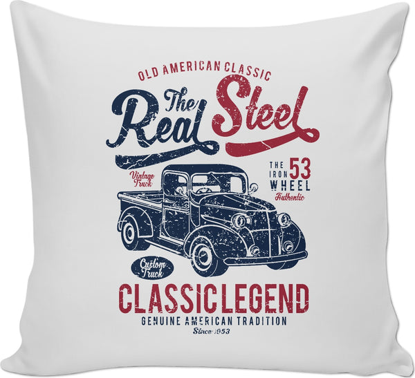 Real Steel Couch Pillow