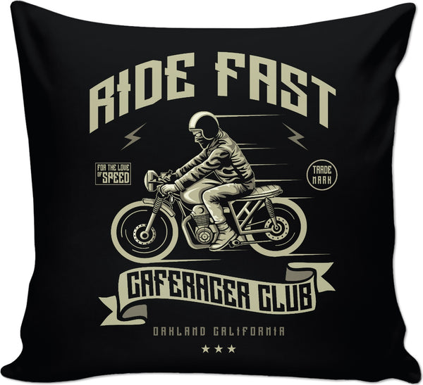 Ride Fast Couch Pillow