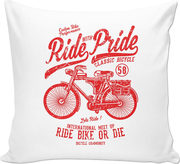 Ride with Pride Couch Pillow