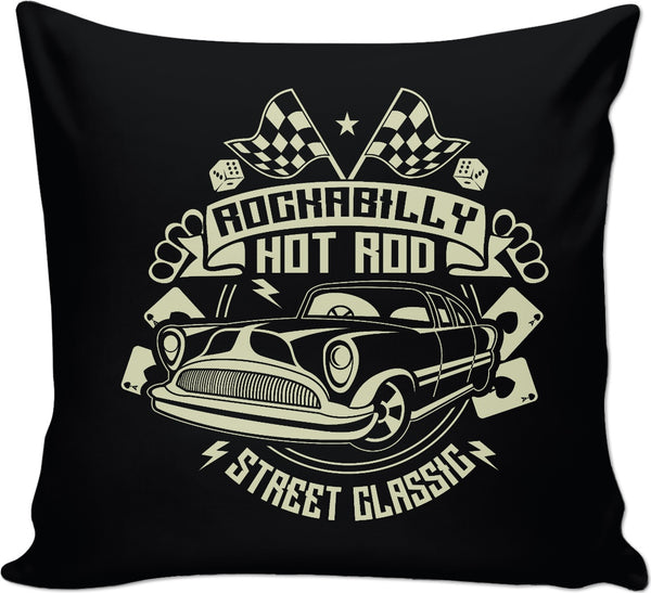 Rockabilly Couch Pillow
