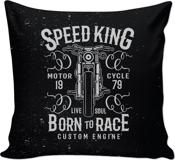 Speed King Couch Pillow