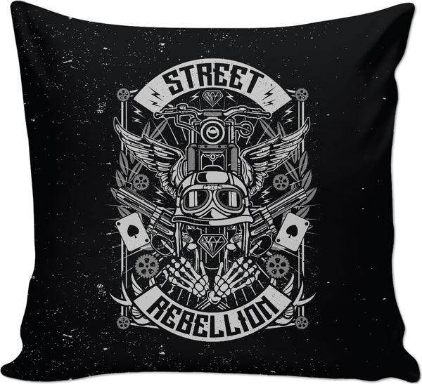 Street Rebellion Couch Pillow