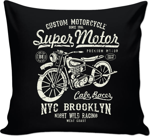 Super Motor Couch Pillow