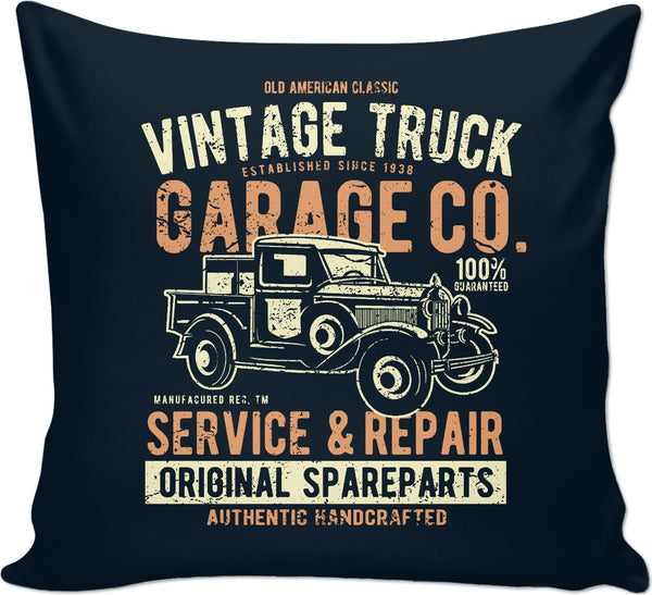 Vintage Truck Couch Pillow
