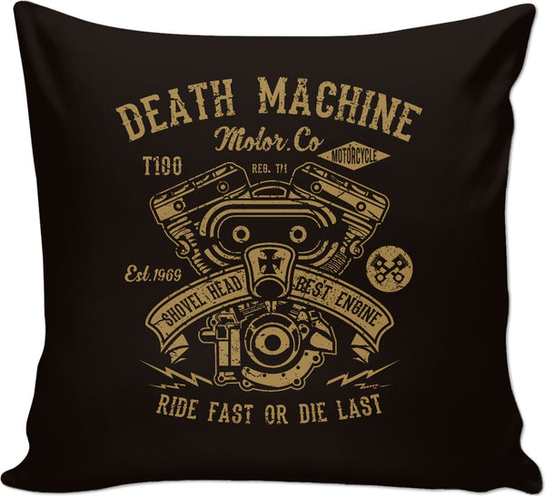 Death Machine Couch Pillow