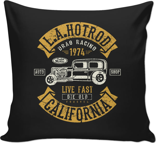 L.A. Hot Rod Couch Pillow