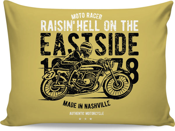 East side Moto Pillowcase